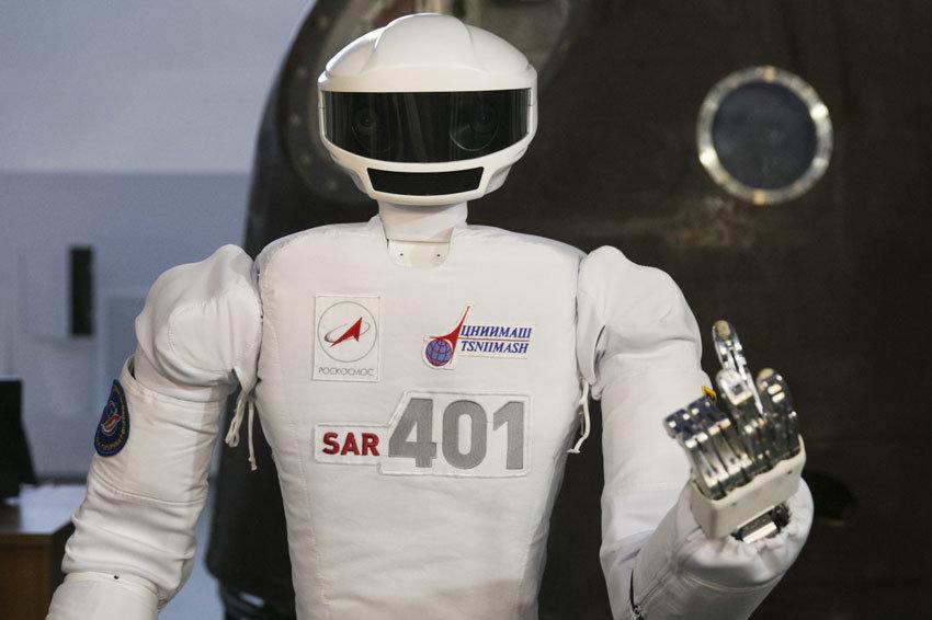 В России начали делать роботов, которые пойдут в бой вместо людей