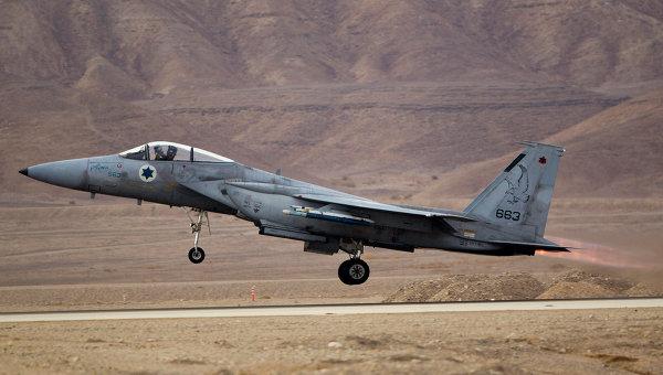 ВВС Израиля атаковали сектор Газа в ответ на палестинский обстрел
