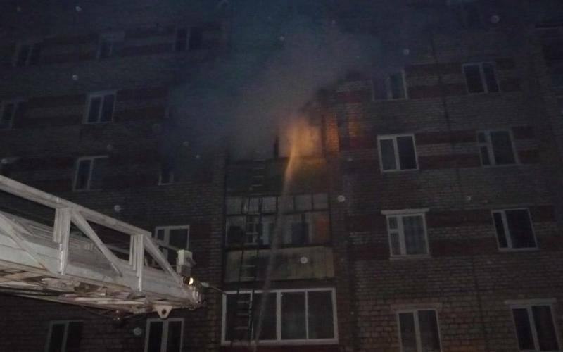 В Советском районе Брянска из-за пожара эвакуировали пятиэтажку
