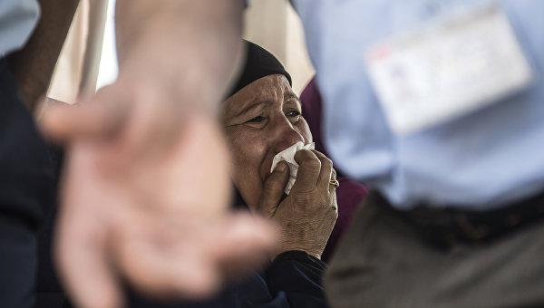 В Каире прошло траурное шествие в память о погибших в авиакатастрофе