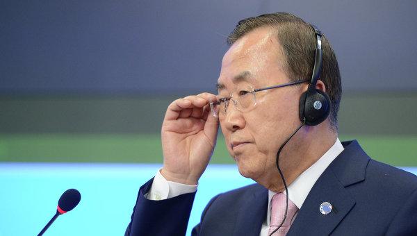 Генсек ООН ожидает разрешения конфликта в Донбассе после передачи Савченко