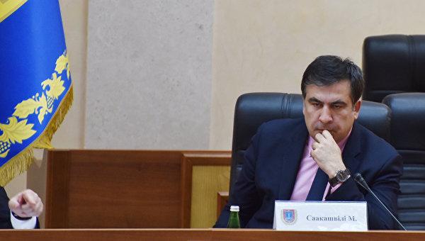 Саакашвили назвал обыск в обладминистрации