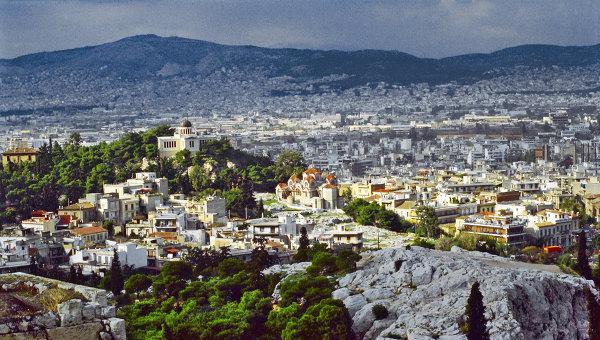 В Афинах к визиту Путина открылся пресс-центр