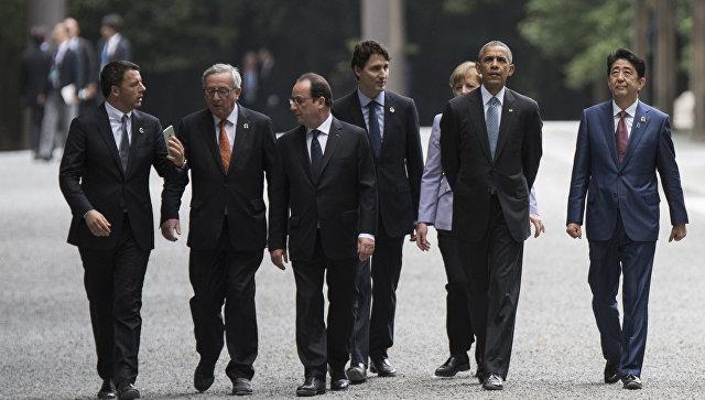 Страны G7 будут содействовать глобальным усилиям по борьбе с коррупцией