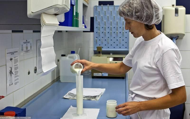 За два месяца вБрянской области изъяли 212 литров некачественного молока