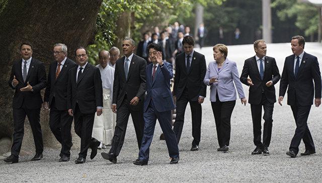 Лидеры G7 договорились о сотрудничестве в борьбе с терроризмом