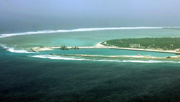 Китай разместил стелс-беспилотник на спорном острове в Южно-Китайском море