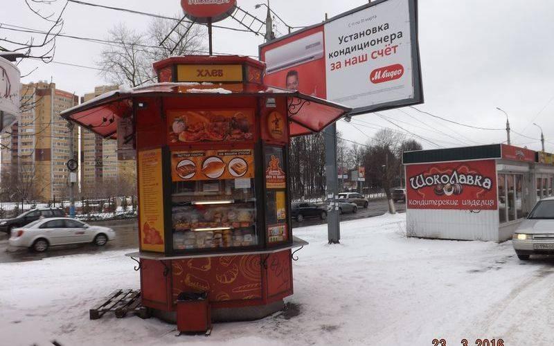 В Советском районе Брянска досих пор не демонтировали семь незаконных киосков