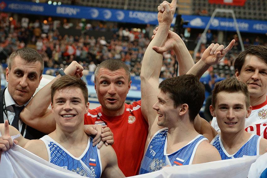 Российские гимнасты завоевали