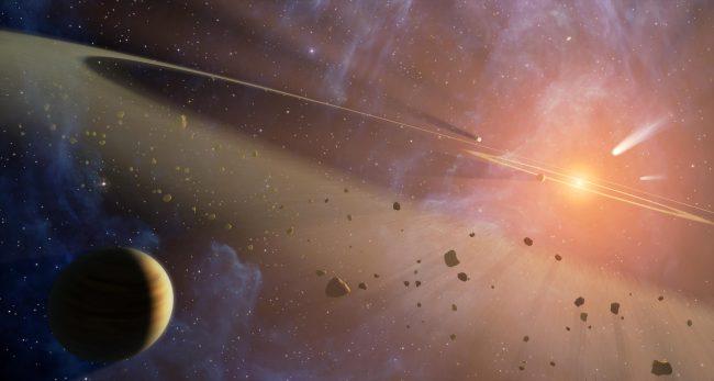 Жизнь в космосе может быть редкостью, как бы нам ни хотелось обратного
