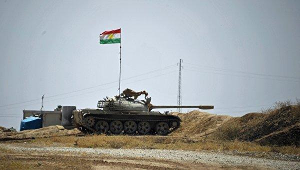 Курдские пешмерга продолжают наступление на позиции ИГ на севере Ирака