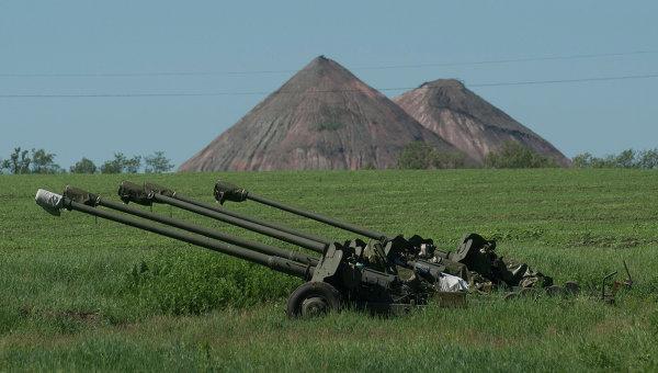 Разведка ЛНР выявила артустановки ВСУ на линии соприкосновения в Донбассе