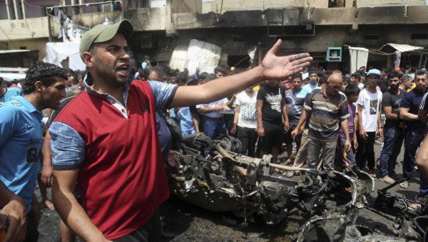 СМИ: при взрыве на севере Багдада погибли одиннадцать человек