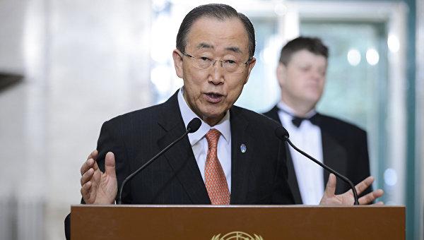 Генсек ООН не подтвердил намерение баллотироваться в президенты Южной Кореи