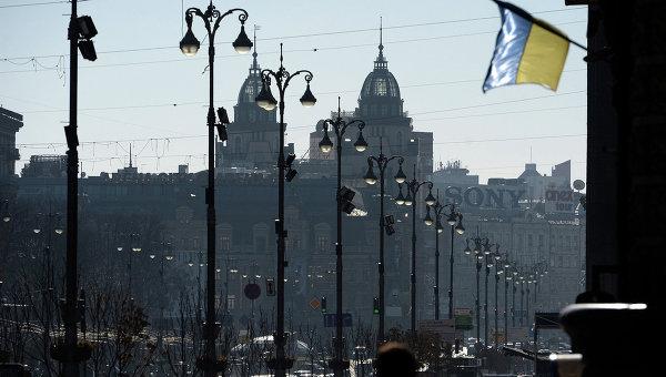 Участники митинга работников украинских АЭС приостановили акцию в Киеве