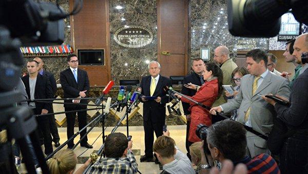 Контактная группа завершила переговоры в Минске без новых договоренностей
