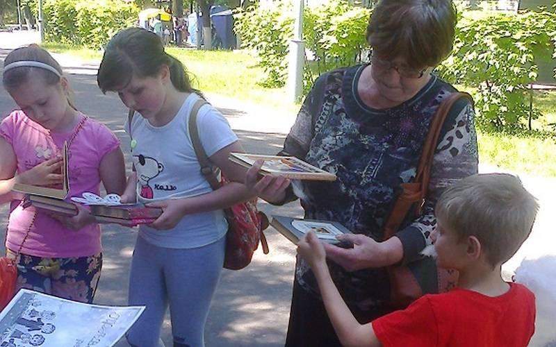 В Брянске стартовал проект «Летний читальный зал»