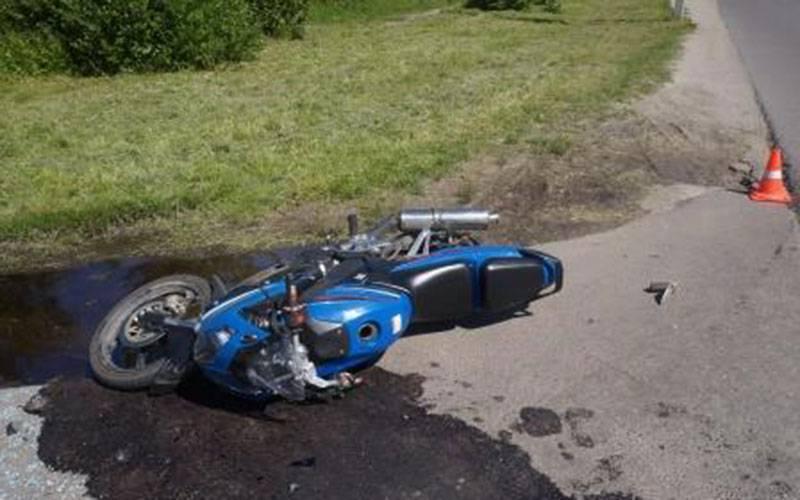ВБрянске сначала года произошло десять аварий сучастием мотоциклистов