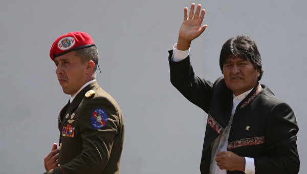 Моралес рассказал, как Боливия будет