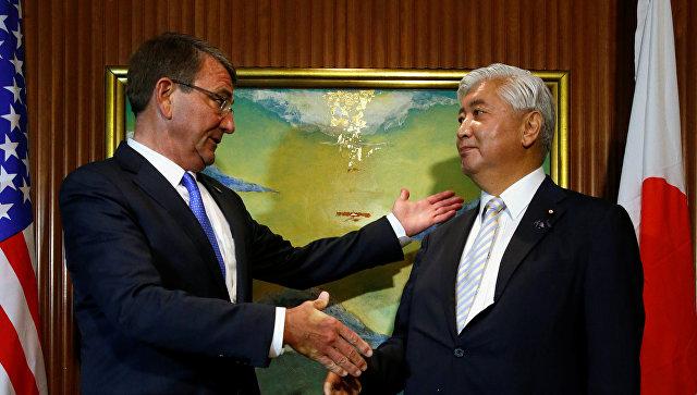 США и Япониия договорились о мерах по контролю за американскими военными