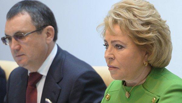 Матвиенко: русскоязычное население в ряде стран становится объектом гонений