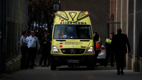 В Испании столкнулись автобус и грузовик, два человека погибли