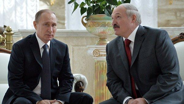 Путин и Лукашенко 8 июня посетят форум регионов России и Белоруссии