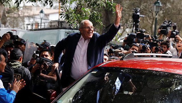 Кучински лидирует на выборах президента Перу после подсчета 90% голосов