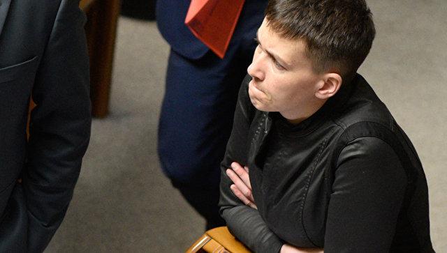Савченко заявила, что Порошенко против прямых переговоров с ДНР и ЛНР