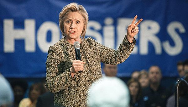 СМИ: Клинтон лидирует у демократов на выборах в Калифорнии
