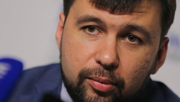 Пушилин: Киев даже не пытался связаться с ДНР по вопросу проведения выборов