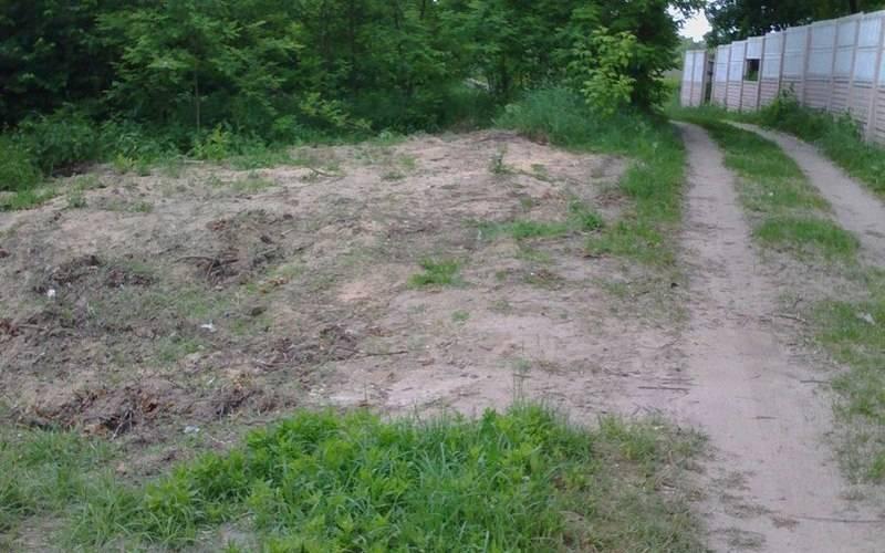 На клинцовском кладбище ликвидировали свалку ирешили проблему сграчами