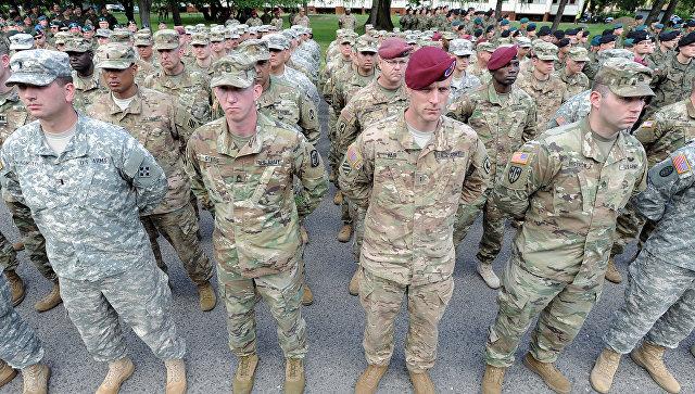 Украинские десантники принимают участие в учениях