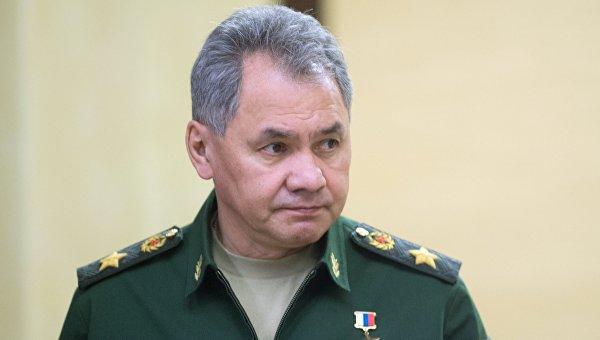 Шойгу: Россия не может игнорировать террористические угрозы из Сирии