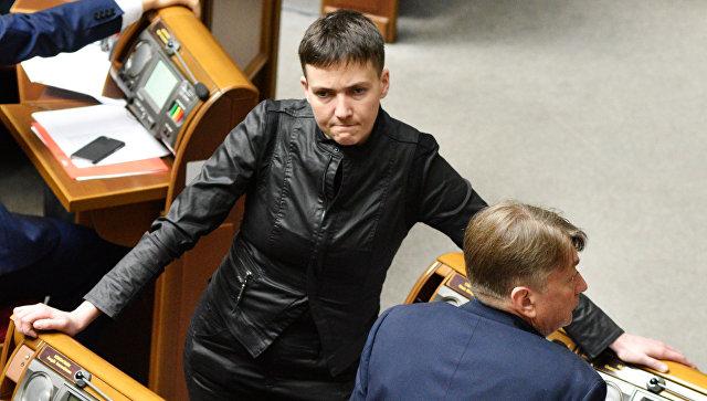 Савченко заявила, что поддерживает амнистию ополченцев Донбасса