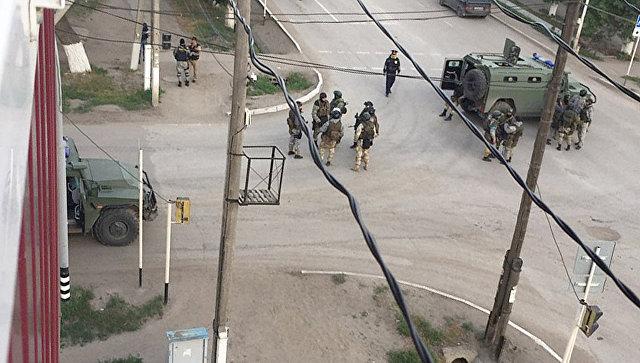 В Актобе силовики уничтожили пятерых террористов