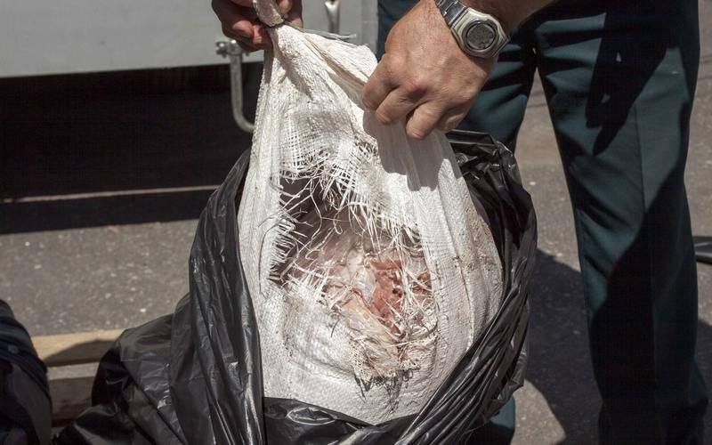 Украинка пыталась провезти черезБрянскую область почти 400 килограммов мяса