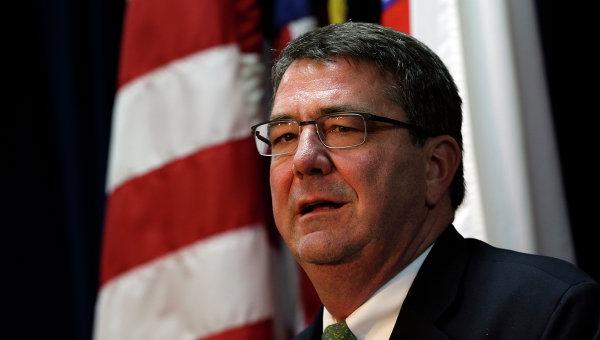 Картер обсудит тему России на встрече глав Минобороны стран НАТО в Брюсселе