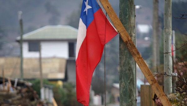 В Чили неизвестные сожгли протестантскую церковь