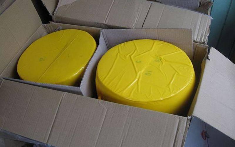 Более 3,5 тонны контрабандного сыра утилизируют вУнече