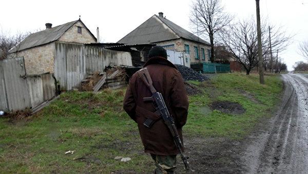 В ДНР заявили о двух сгоревших домах под Горловкой