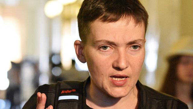 Савченко намерена обсуждать обмен пленными с представителями ДНР и ЛНР