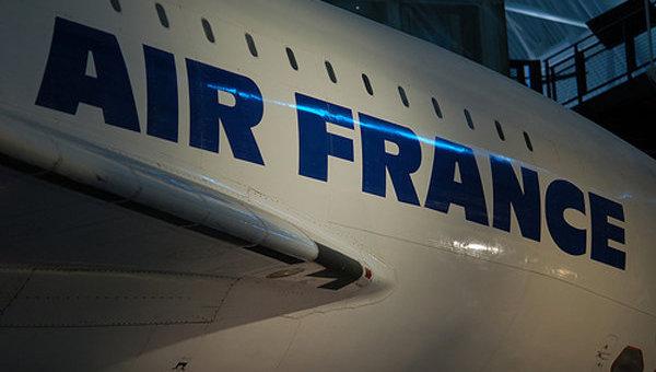 Во Франции начнется забастовка пилотов Air France в субботу