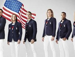 На форме американских олимпийцев увидели российский триколор