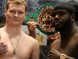 Александр Поветкин возвращается на ринг в бою со Стиверном