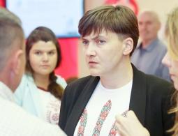 Савченко готова баллотироваться в президенты Украины