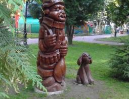 В парке Толстого появилась новая скульптура