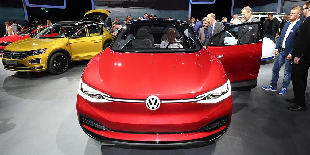 Volkswagen назвал сроки начала выпуска электрокаров нового поколения