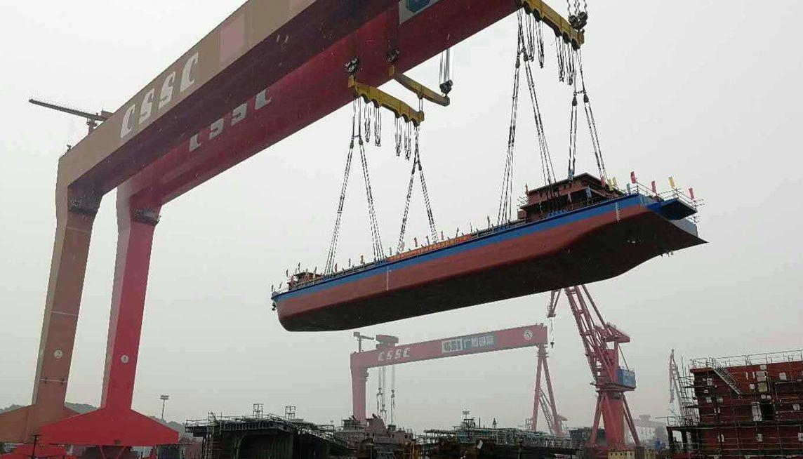 Электромобили? Пфф… Китайцы построили сухогруз на батарейках