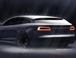 Рассекречена внешность электрического универсала на базе Tesla